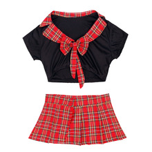 Plaid Skirt School Girl sexy costume