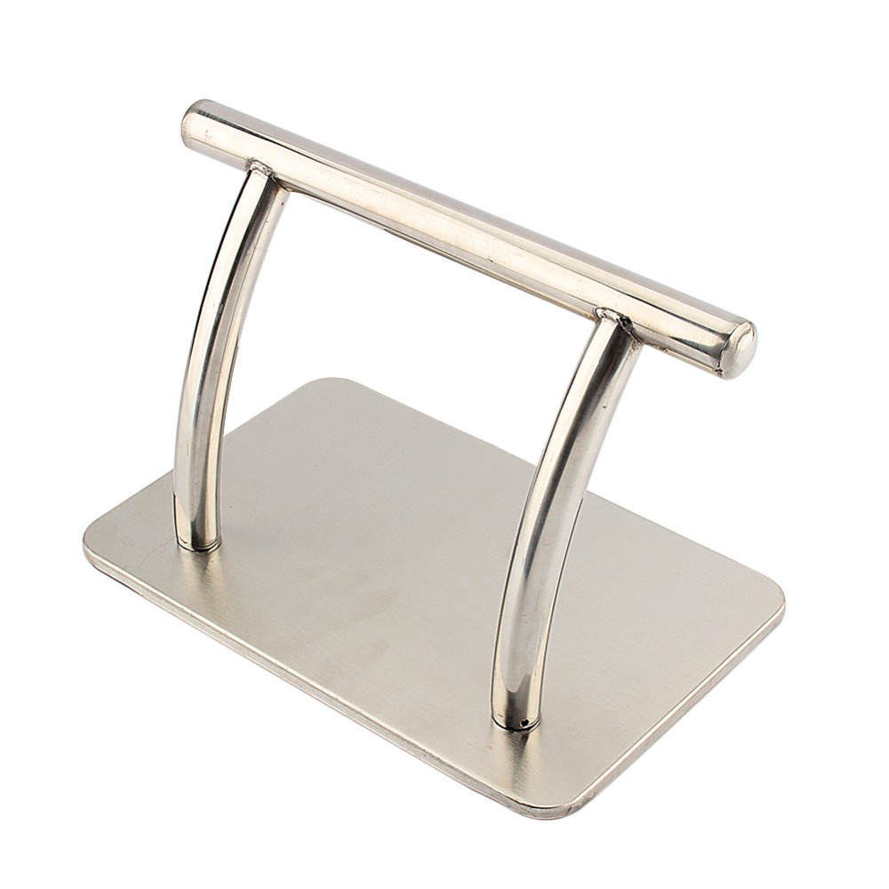 Stainless Steel Strong Footrest Salon Barbers Hair Chair Tattoo Stylish Tool Equipment Tool Accessory