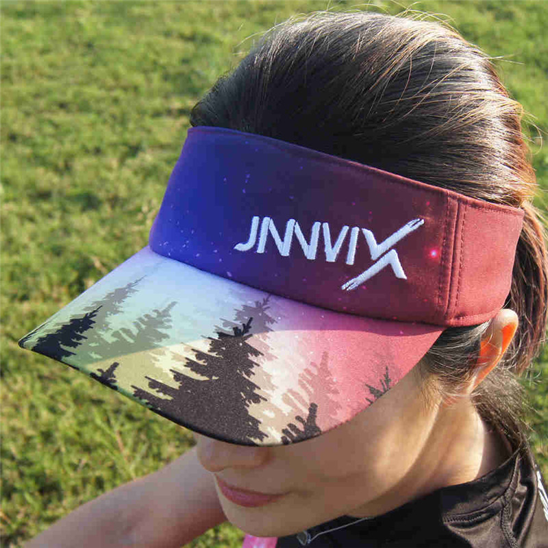 JINNMIX marathon cross country running Ultralight 41g Sweat empty cap women sports hat sunscreen hiking climbing outdoor sun hat