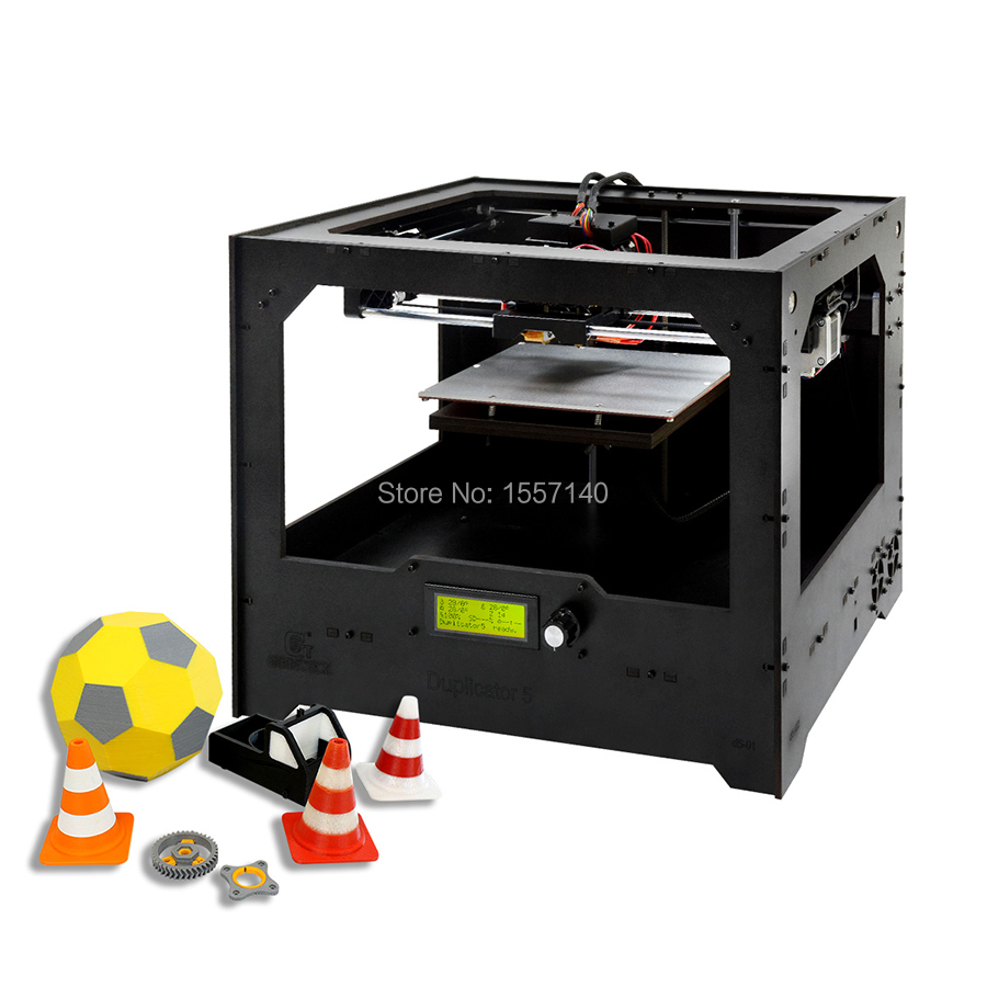 Dual Extruder 3D Printer Diy Kit with Smart App Multi Color Print Wi-Fi Connection Cloud 3D printing hot sale wanhao d4s 3d printer dual extruder with multicolor material in high precision with lcd and free filaments sd card