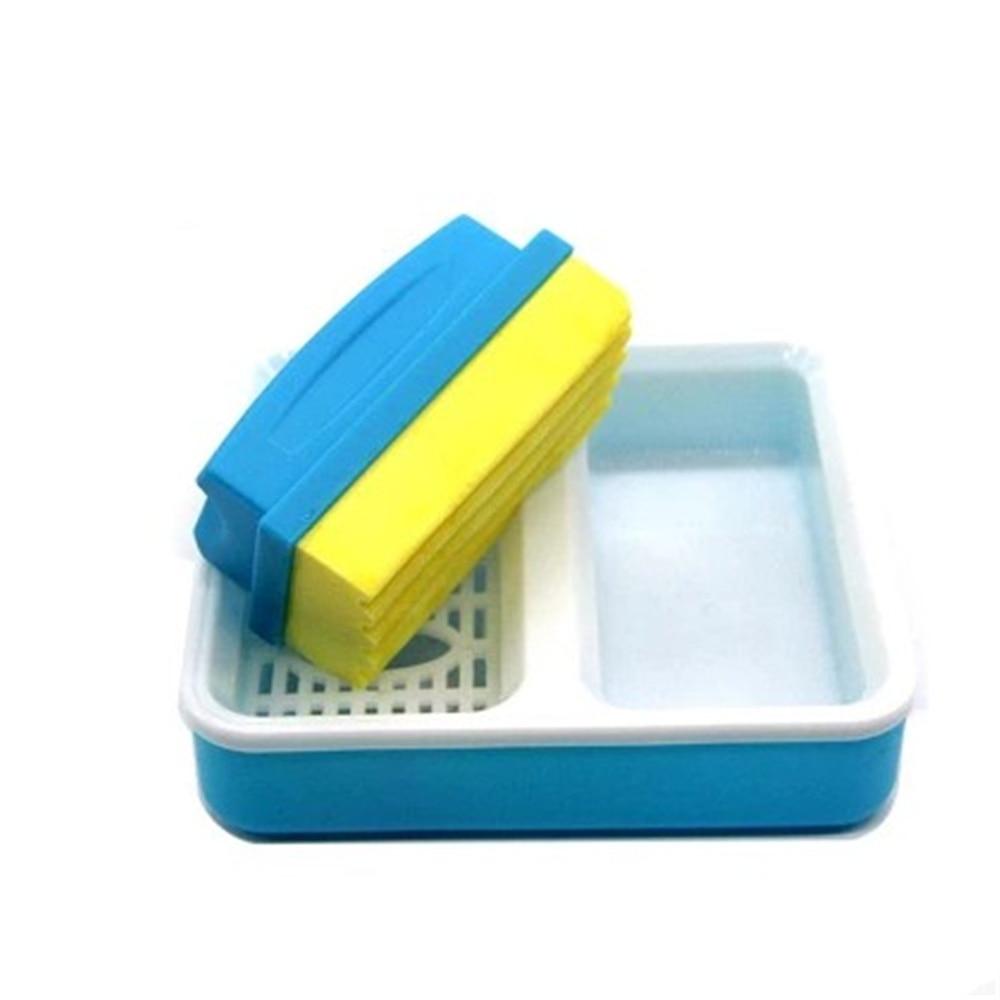 Whiteboard Schwamm 5 Marker magnetisch Eraser Radierer Weißwandtafel