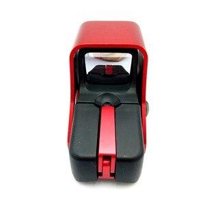 Image 5 - ยุทธวิธี 551 Holographic Sight Mini Reflex Red Dot Optics Sight ปืนไรเฟิลขอบเขตการล่าสัตว์ Airsoft 20 มม.Dropshipping