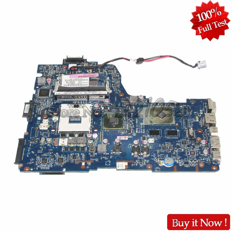 NOKOTION MB K000104390 Main Board for toshiba satellite A660 A665 laptop motherboard LA-6062P Rev 2.0 HM55 GT330M DDR3 nokotion laptop motherboard for toshiba satellite a660 a665 nwqaa la 6062p k000109850 hm55 gt310m graphics ddr3 main board works