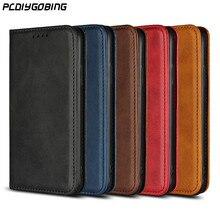 Роскошный кожаный чехол Бизнес кошелек сумка Satnd Магнитная Застежка чехол для телефона для sony XZ1 G8342 чехол Xperia XZ1 компактный G8441