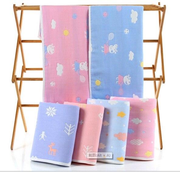 camadas toalha de banho do bebe recem nascido 05