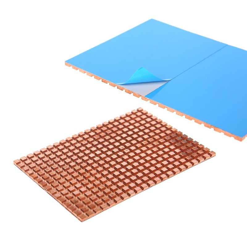 Ultra Tipis Tembaga Murni Mekanik Hard Disk Cooler Heat Sink Cooling 2.5 Inch