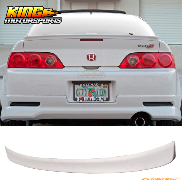 For Acura RSX DC Type R Rear Trunk Duck Lip Spoiler Wing - Acura rsx type r wing