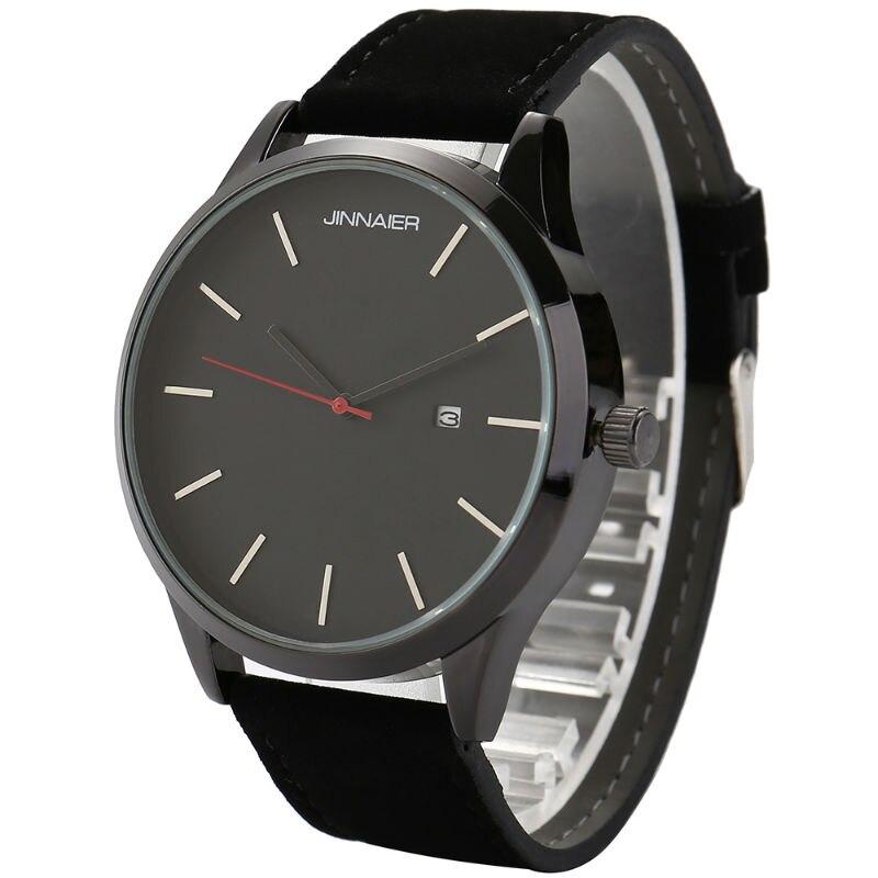 YAZOLE 2016 luxury brand quartz watch business casual leather men s sports calendar fashion watches Relogio