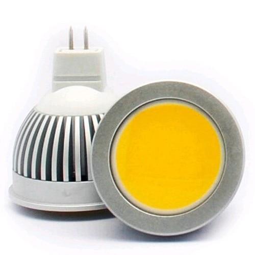 MR16 Base 3W 5W 7W COB Dimmable LED Spotlight bulb LED Enegy saving lamp White/Warm/Cool White 12V LED Lighting 1PCS/Lot lexing lighting lx cob 003 g5 3 3w 230lm 3500k cob warm white light spotlight bulb black silver