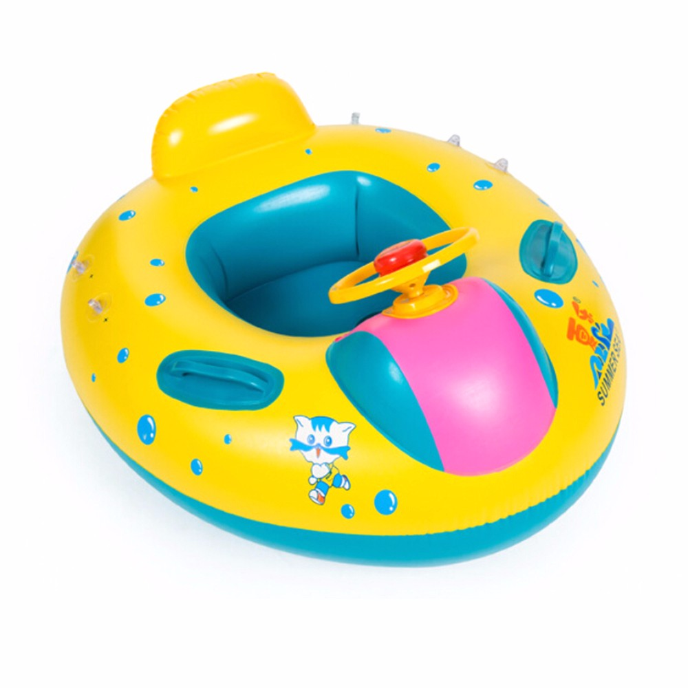 Inflatable Round Toddler Baby Ring Swimming Pool Accessories float seat plastic piscina with canopy for newborn-in Swimming Rings from Sports ...  sc 1 st  AliExpress.com & Inflatable Round Toddler Baby Ring Swimming Pool Accessories float ...