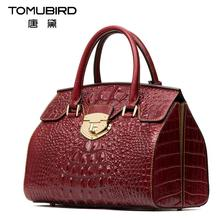 2016 New luxury handbags women bags designer alligator grain platinum bag quality genuine leather women handbags shoulder bag