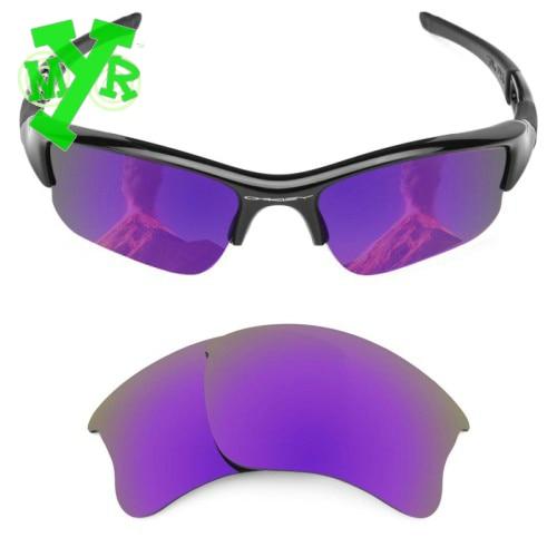 366c1f895bfd7 Mrylens polarizadas lentes de reemplazo para Oakley Flak Jacket XLJ gafas  con Plasma púrpura Color para la conducción artículos en Gafas de ciclismo  de ...