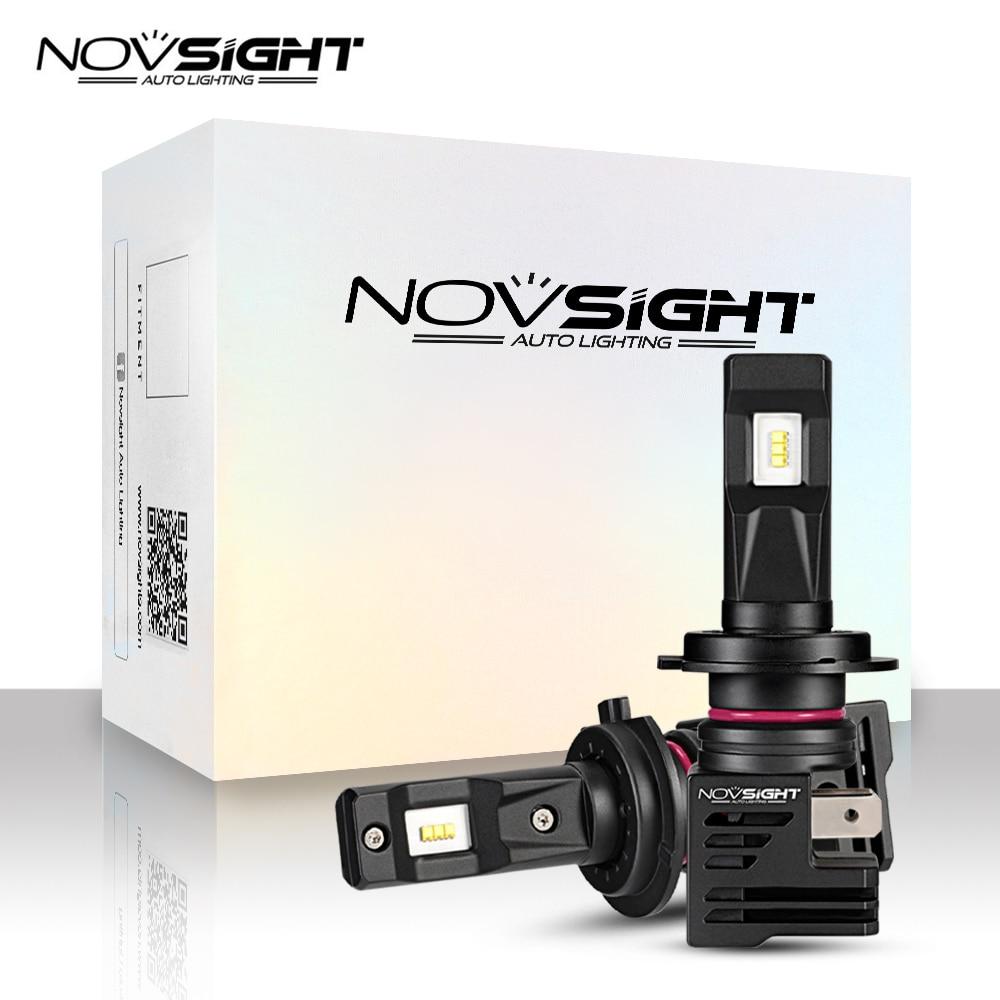 NOVSIGHT Super MiNi H7 Led H4 Car Headlight Bulbs H11 H8 H9 H16JP 9005 9006 H1