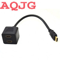 HDMI TO HDMI 2 Port Input Male To 1 Port Output Female Switch Y Splitter Cord
