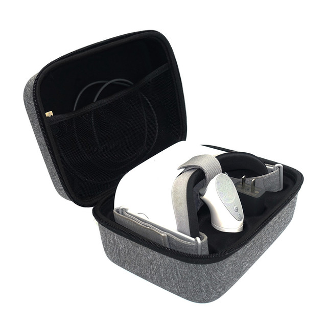 US $16 61 29% OFF|Travel Carring Handbag For Oculus Go VR Virtual Reality  Headset Remote Controller All Accessories Storage Cases Bag-in VR/AR  Glasses