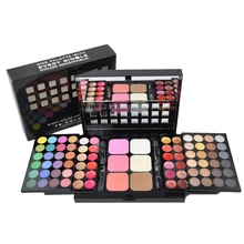 78 Colors Eyeshadow Palette Professional Makeup Set Box Lipgloss Foundation Powd