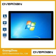 21,5 дюйма Win7 система одиночный Touch1920 * 1080 промышленный компьютер бытовой встроенный компьютер резистентный плоскостный компьютерный экран