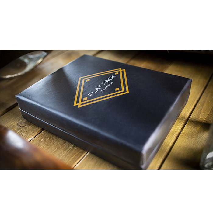 Pack plat de Jason Knowles (Gimmick et Instructions en ligne) gros plan tours de magie Illusions Street Magic Fun Card Magia Show
