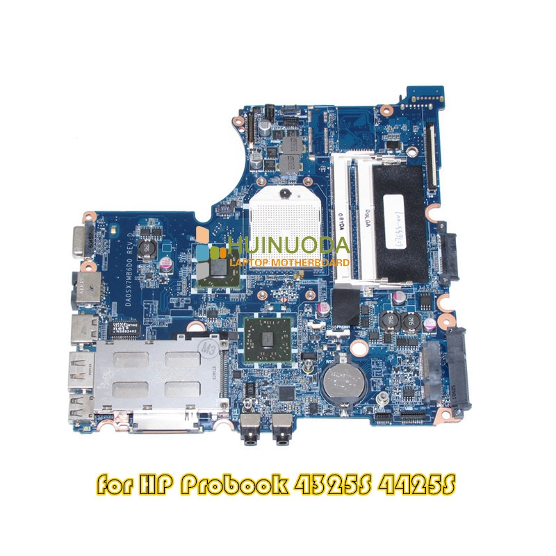 Mainboard For HP Probook 4325S 4425S laptop motherboard DDR3 607655-001 DA0SX7MB6D0 585221 001 fit for hp probook 4515s 4416s laptop motherboard mainboard 100
