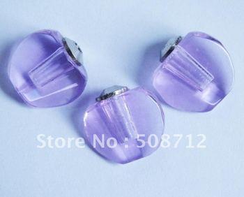 Free shipping!!!200pcs/lot purple Crystal  perfume apple vial, Fragrance vial pendant