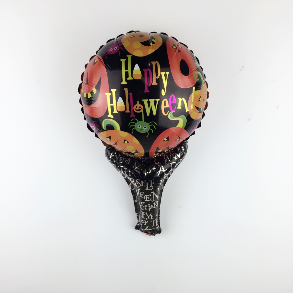 XXPWJ Free Shipping New 1pcs Pumpkin Handmade Halloween Aluminum Balloon Childre