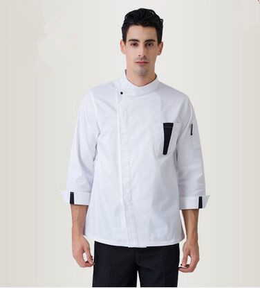 Kitchen Chef Uniform Top Chef Jacket Pastry Chef Jacket White Chef Jacket