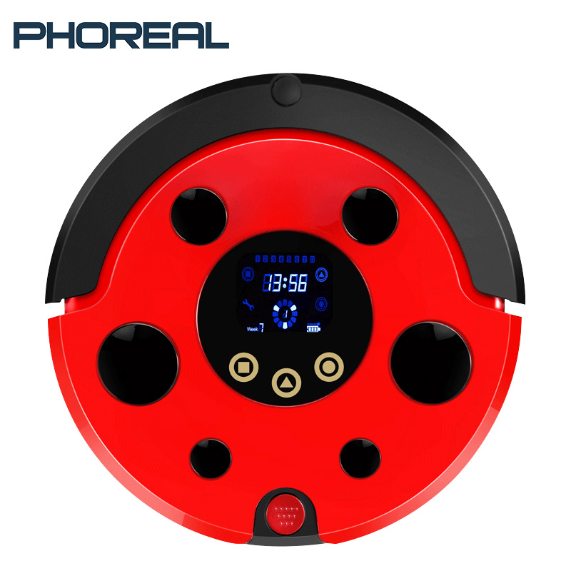 PhoReal FR Beatle wifi Robot Vacuum Cleaner For Home Planned Route Sterilize Water Washing Mop Robot