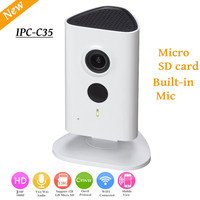 Newest Dahua 3mp Wifi Camera IPC C35 HD 1080p Security Camera Support SD card up to 128GB built in Mic Wireless camera