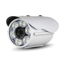 POE Audio HD 1080P outdoor white light full-color network IP camera 2.0MP metal security P2P 6 white lights