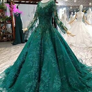 Image 3 - Aijingyu vestidos de luxo com jóias loja vestidos para casamento muçulmano federação russa plain mais noivado vestido de casamento taiwan