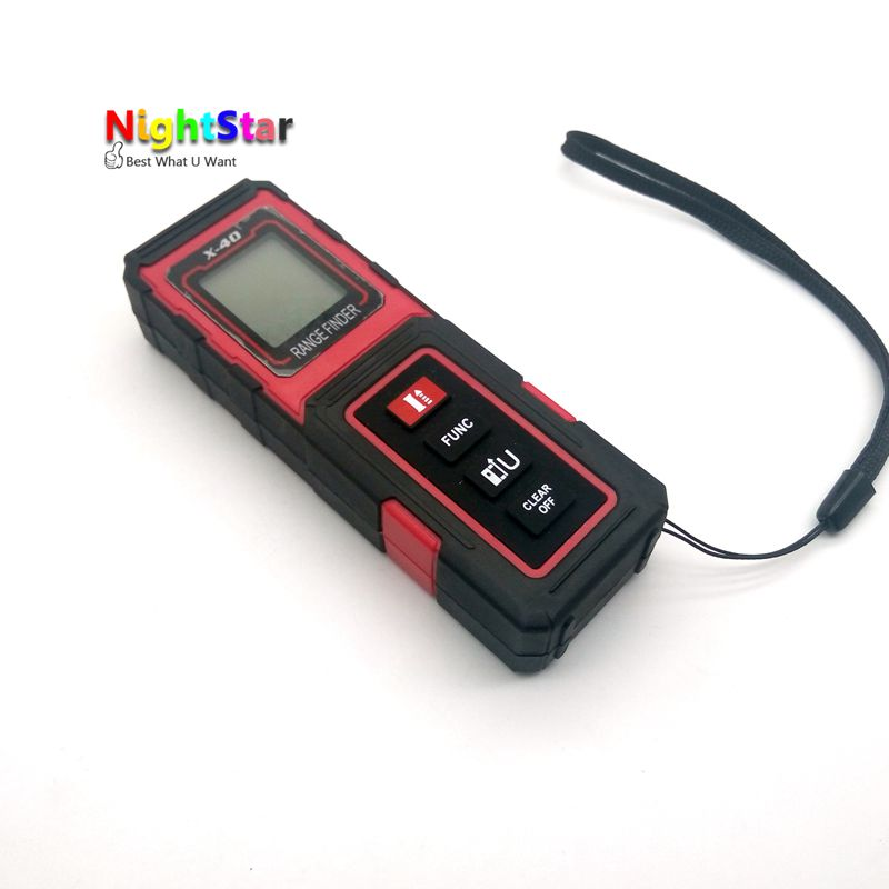 цена на 40M /131ft /1575in Digital Laser Distance Meter Range Finder Measure Diastimeter metro laser medidor distancia digital telemetro