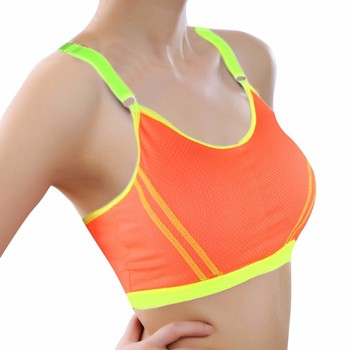 Adjustable Sports Bra Fitness Yoga Sports Bra For Running Gym Women Seamless Breathable Push Up Leisure Bras