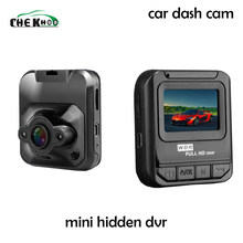 Mini coche DVR Cámara Full HD 1080 P Video registrador grabadora G-sensor de visión nocturna escondido Dash Cam(China)