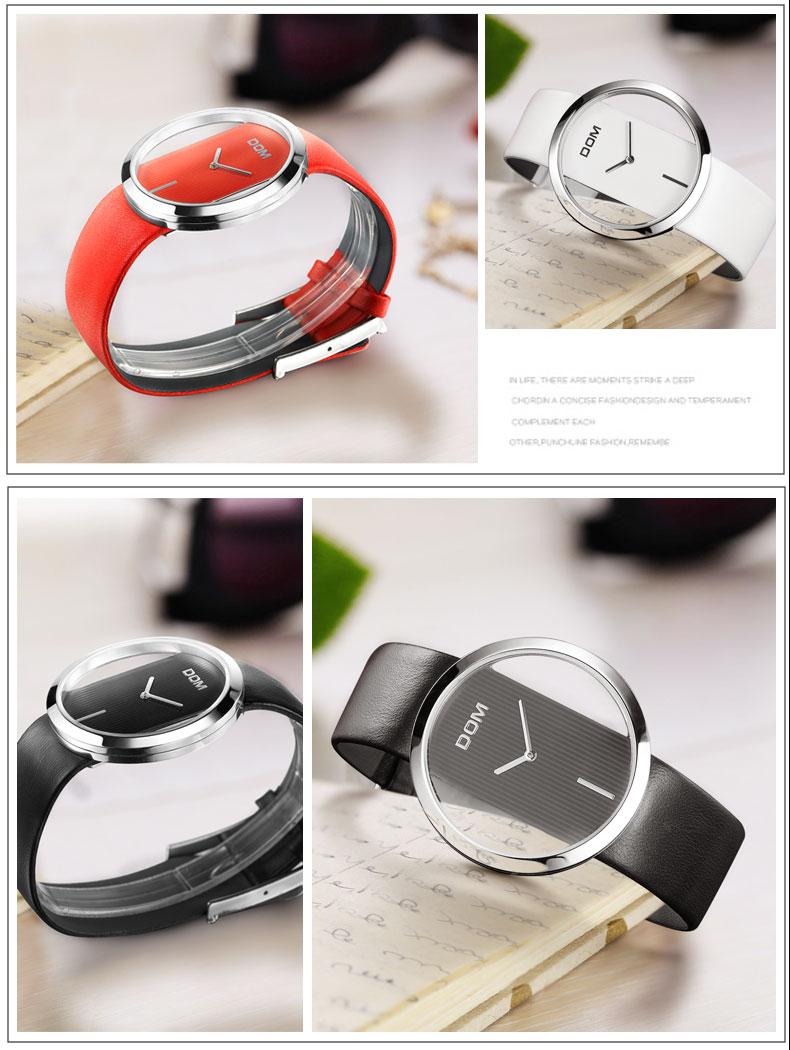 DOM: Reloj de pulsera de lujo para mujer 20