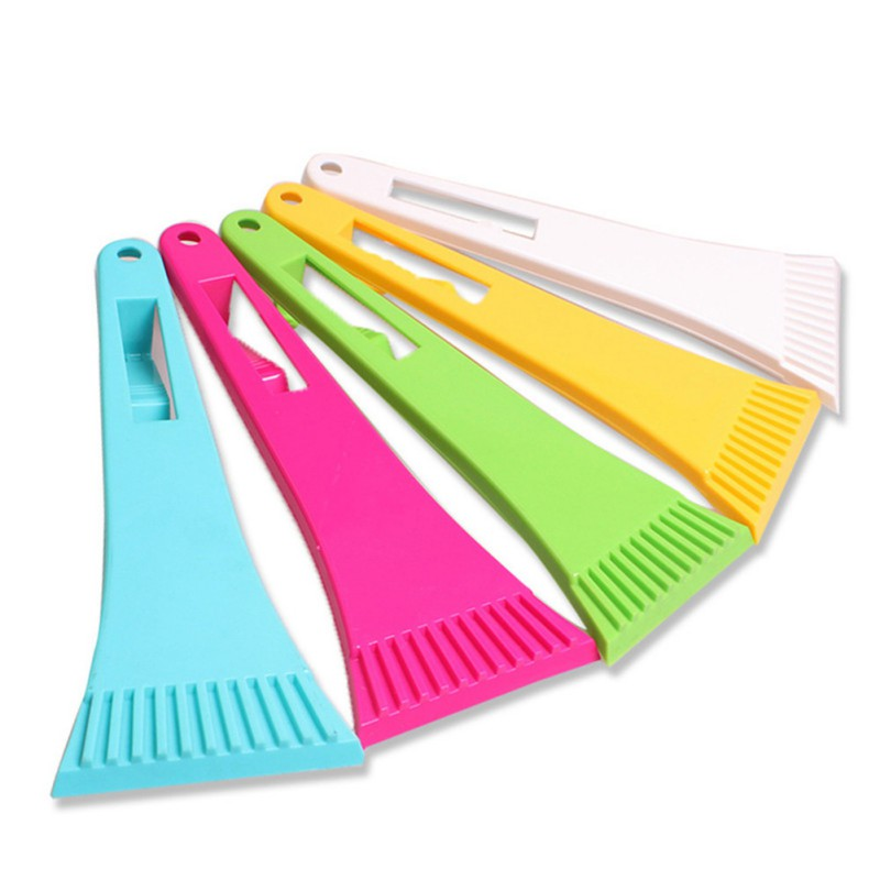 Mini Portable Car Windshield Ice Scraper Vehicle Snow Shovel Removal Brush Car Windscreen Clean Tools