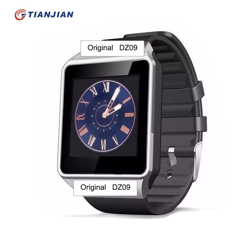 imágenes para Bluetooth smartwatch smartwatch dz09 con soporte sim tf cámara del deporte de la salud reloj inteligente para android inteligente relojes