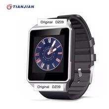 Bluetooth smartwatch smartwatch dz09 con soporte sim tf cámara del deporte de la salud reloj inteligente para android inteligente relojes