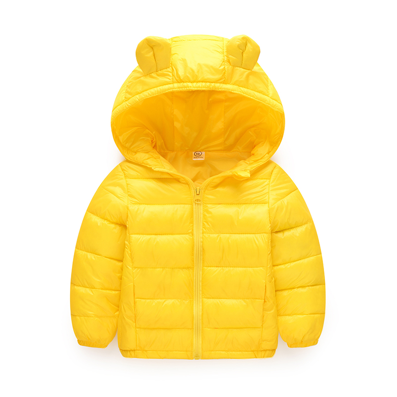 6aad57a6a Hot Sale Candy Color Kids Winter Jackets Cartoon Style Girls Cute Outerwear  Baby Clothes Ear Hooded Zipper Cotton Parkas HEX01 on Aliexpress.com |  Alibaba ...