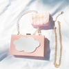 New Arrival Japanese Preppy Style Chains Chocolate Box Inclined Shoulder Bag Handbags Fashion Casual Elegance Shopping