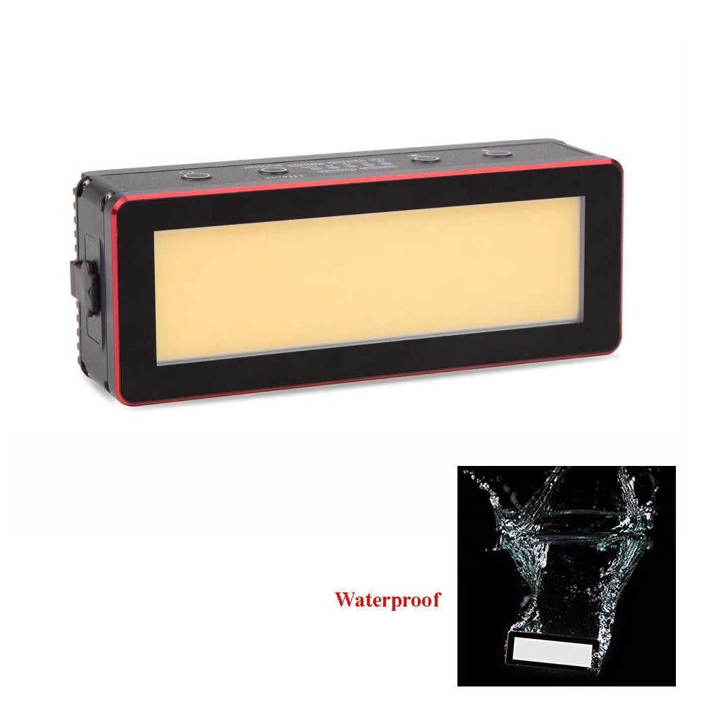 Aputure AL MW 10W Waterproof Mini LED Light Built in Lithium Battery IP68 10M 5500K CRI