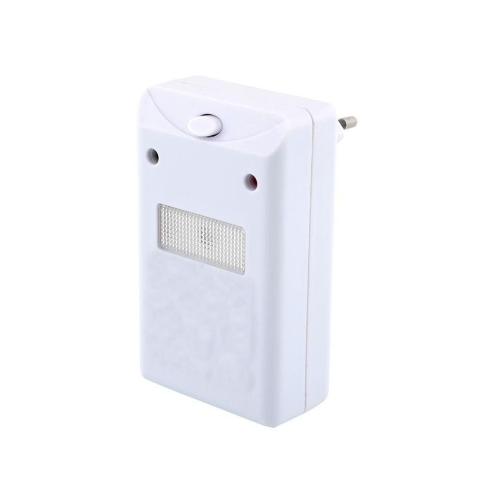 220V Ultrasonic Electronic Anti Mice Pest Control Mole Repeller Outdoor Garden Rodent Repeller EU Plug
