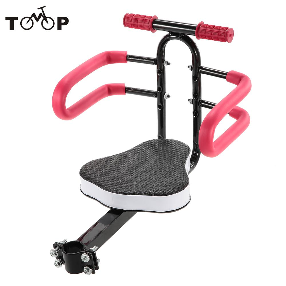 Quick Release Front Mount Child Bicycle Seat Kids Saddle Electric Bicycle Bike Children Safety Front Seat