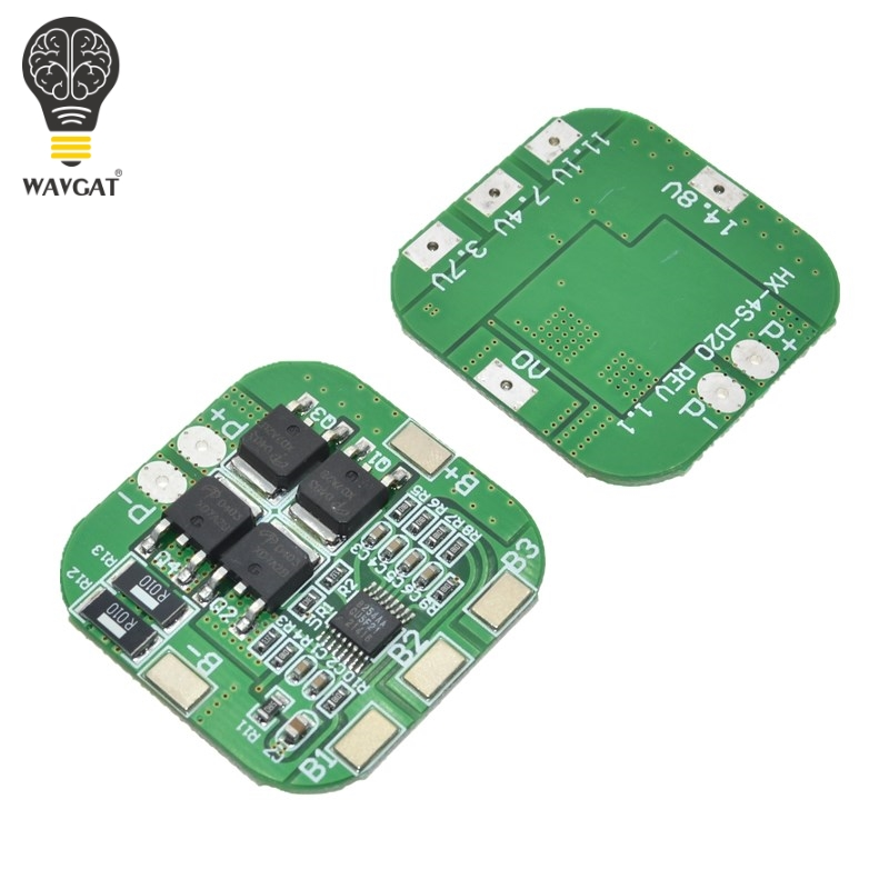 4S 14.8V / 16.8V 20A peak li-ion BMS PCM battery protection board bms pcm for lithium LicoO2 Limn2O4 18650 li battery4S 14.8V / 16.8V 20A peak li-ion BMS PCM battery protection board bms pcm for lithium LicoO2 Limn2O4 18650 li battery