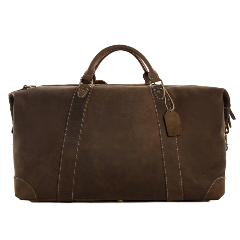 rockcow bolsa super grande bolsa Leather Travel Estilo : Vintage