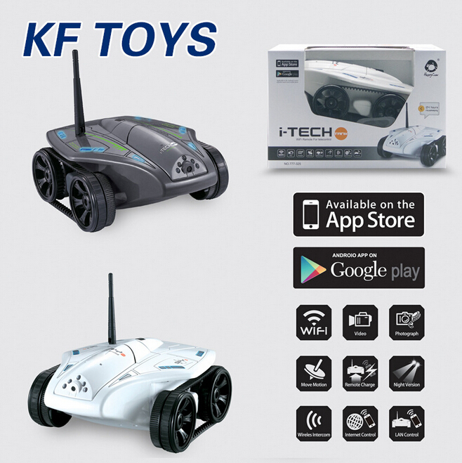 цены  New Arrival rc tank Happy Cow 777-325 WiFi RC Car with 30W Pixels Camera Support IOS phone or Android