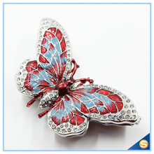 Colorful Butterfly Trinket Box Jewelry Box Ring Box Necklace Box