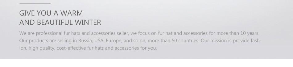 mink fur hats female winter PCM016 (40)