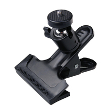 Gopro Accessories 360 Degree Rotating Ball Head Clamp Clip Holder with 1/4 screw Tripod Mount for Gopro Camera Hero 4 3 3+ 2 1