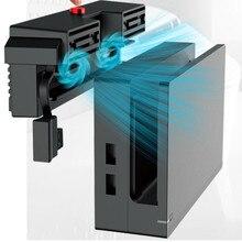 Ventilador de refrigeración para consola Nintendo Switch NS, 2 ventiladores de 5000RPM, ventilador enfriador de temperatura Super Turbo