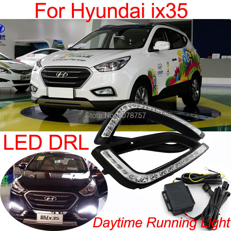 Excellent Car LED DRL Daytime Running Light For Hyundai